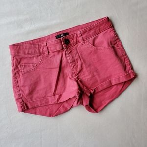 H&M Faded Red Shorts | 4